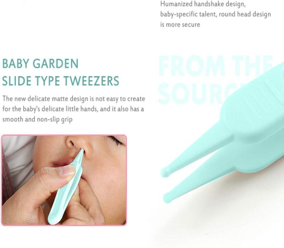 Nagelschere Nagelfeile IKAAR Babypflegeset f/ür Fingern/ägel und Fu/ßn/ägel mit Nagelknipser Ohrenreiniger und Pinzette f/ür Kinder und Neugeborene Blau