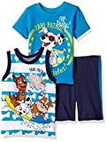 Nickelodeon Boys' 3 Piece Paw Patrol Tee, Tank and Short Set