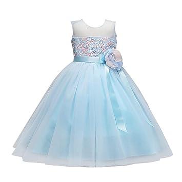 Vestido de fiesta para niñas Vestido de princesa vestido de fiesta del vestido de bola del