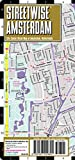 streetwise amsterdam map laminated city center street map of amsterdam netherlands michelin streetwise maps