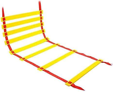 Xin Escalera de Agilidad Velocidad de Salto de fútbol Entrenamiento de la Agilidad al Aire Libre Fútbol Aptitud del pie Velocidad de Escalera 4 Estilos: Amazon.es: Deportes y aire libre