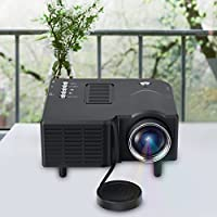 Projector HD 1080P LED Multimedia Mini Projector Home Theater Cinema VGA HDMI USB SD