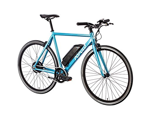 Brand New Luxury Populo Sport Electric Bicycle (Gloss Blue) (S) (49cm)