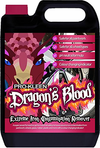 Pro-Kleen Dragon's Blood Extreme Iron Contamination Fallout Remover (5L)...