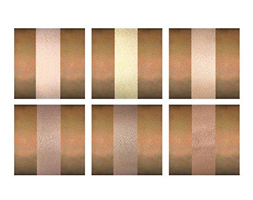 Contour Kit - 6 Pigmented Professional Contour Kit Makeup Palette Set Pro Palette High-end Formula (Highlight & Contour) - Step-by-Step Instructions Included by Karity (Image #7)
