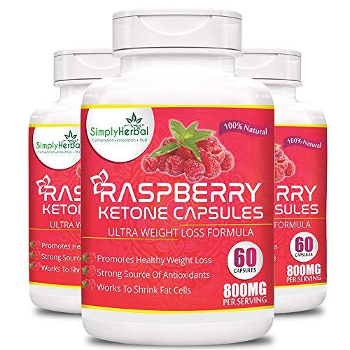 Simply Herbal Raspberry Ketones Garcinia Cambogia Green Tea