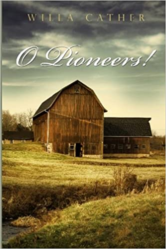 O Pioneers Willa Cather Amazoncom Books - Willa cather us map