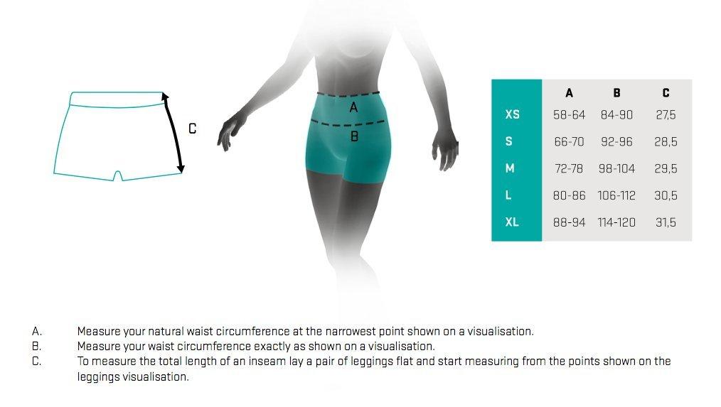 89732fdce53104 Smmash CrossFit Womens Leggings ATACAMA short SMMASH X-WEAR IRONEA