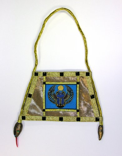 Egyptian Scarab & Asp Handbag (Egyptian Halloween Accessories)