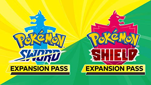 Pokémon Sword Expansion Pass or Pokémon Shield Expansion Pass (Retail Version) – [Switch Digital Code]