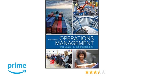 Operations management william j stevenson 9781259667473 amazon operations management william j stevenson 9781259667473 amazon books fandeluxe Image collections