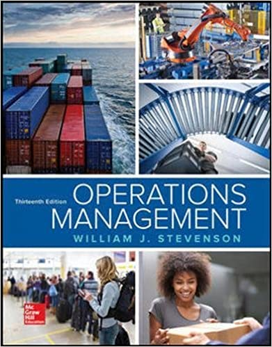 Production Operations Management Stevenson Pdf