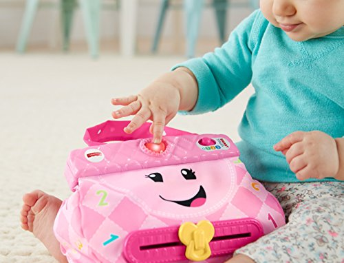 51l35UPlHiL - Fisher-Price My Smart Purse Toy Playset