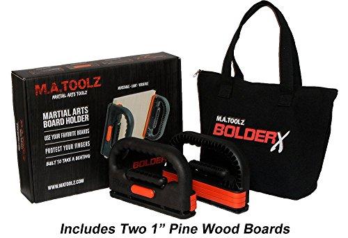 BolderX Board Holder - Pine Breaking Boards
