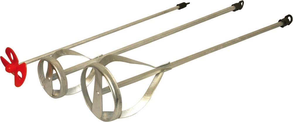 marapon–Mélangeur à peinture & Mortier monocommande 3pièces–400x 75mm–400x 55mm–370x 60mm | pour mélanger la coule