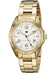 Tommy Hilfiger Womens LIZZIE Quartz Gold Plated Casual Watch (Model: 1781638)