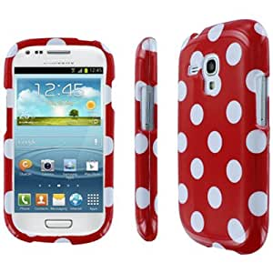 Full Coverage Red Polka Dot Case for For Samsung Galaxy S III Mini I8190