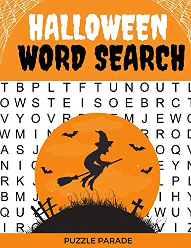 Halloween Word Search: Large Print Word Search Book For Adults -