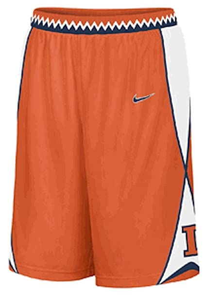 b64df29f015 Illinois Fighting Illini Embroidered Player Basketball Shorts (S=31-32)