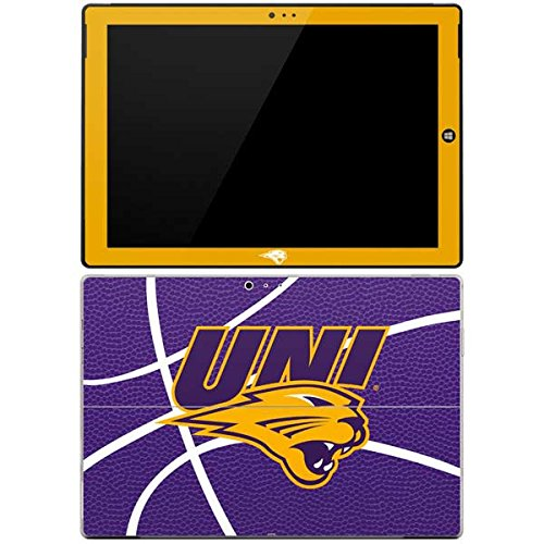(Skinit Northern Iowa Panthers Leather Surface Pro 3 Skin - Officially Licensed Learfield Collegiate Tablet Decal - Ultra Thin, Lightweight Vinyl Decal Protection)