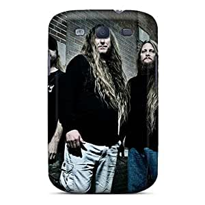 Anti-Scratch Hard Phone Cases For Samsung Galaxy S3 With Unique Design Vivid Obituary Band Skin LauraAdamicska