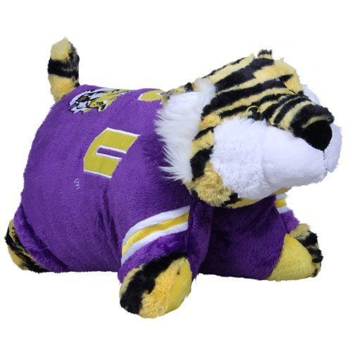 Fabrique Innovations NCAA Pillow Pet, LSU Tigers - Louisiana State Tigers Lsu Bedding