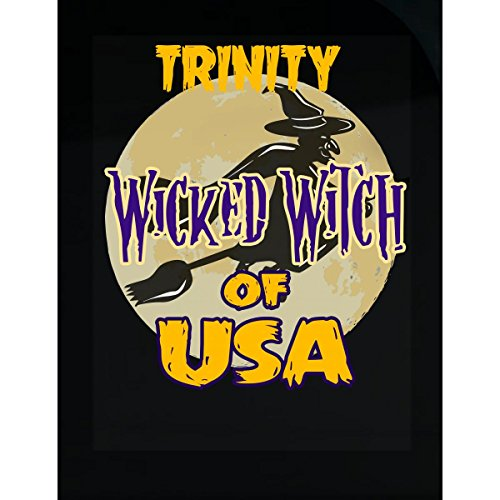 Prints Express Halloween Costume Trinity Wicked Witch of USA Great Personalized Gift - Sticker