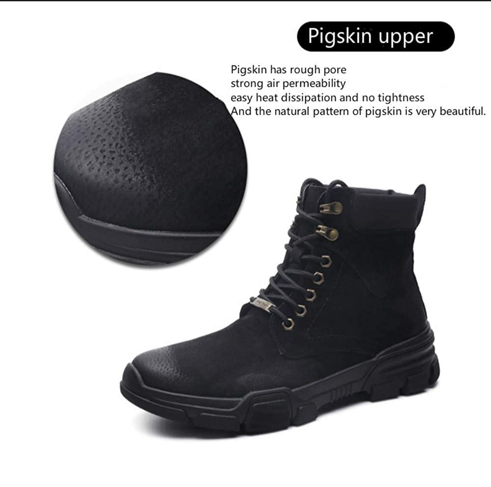 Lace Up Winter Ankle Boot Military Tactical Combat Hiking Boots SuperDuo Mens Motorcycle Duty Work Boots
