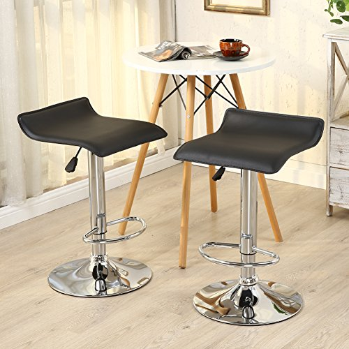 Belleze-Set-of-2-Leather-Modern-Adjustable-Swivel-Barstools-Hydraulic-Chair-Bar-Stool