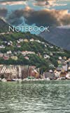 Notebook: Landscape Bergen Norway sky clouds city
