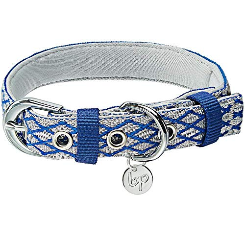 Blueberry Pet 10+ Colors The Most Coveted Designer Mixed Metallic Thread Dog Collars