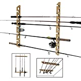 Rush Creek Creations 3 in 1, 11 Fishing Rod Wall