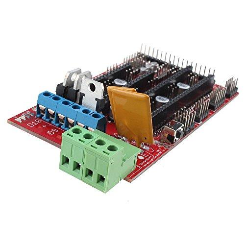 Makerfire® Mega 2560 + RAMPS 1.4 REPRAP High Quality 3D Printer Controller Board+ 4 pcs A4988 Stepper Motor Driver
