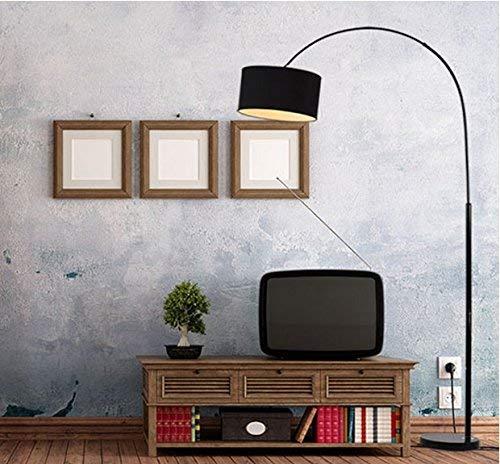 PLLP Lámpara de pie para el hogar, Lectura de pie en el Piso, lámpara de pie de Estudio Junto a la Cama del Dormitorio de...