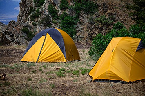 TETON Sports Mountain Ultra 4 Tent; 4 Person Backpacking Tent Includes Footprint and Rainfly; Easy Set-up Tent