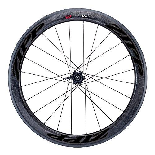 Zipp 404 Firecrest Carbon Disc Brake Road Wheel - Clincher Black, Front, 6 Bolt