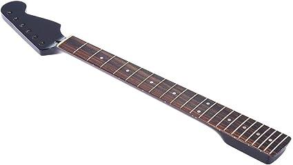 Reemplazo del mástil de arce Diapasón de palisandro para guitarra ...