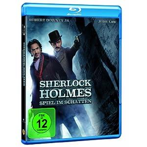 Sherlock Holmes 2: Spiel im Schatten [Blu ray] nur 12,99€ inkl. Lieferung