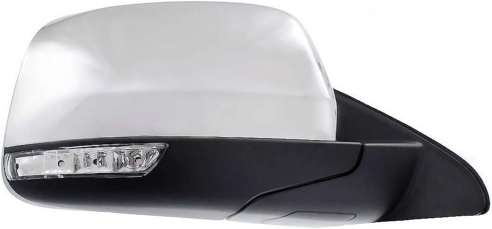 Automotive CH1320358 Parts Link # Left Driver Side Chrome Heated ...
