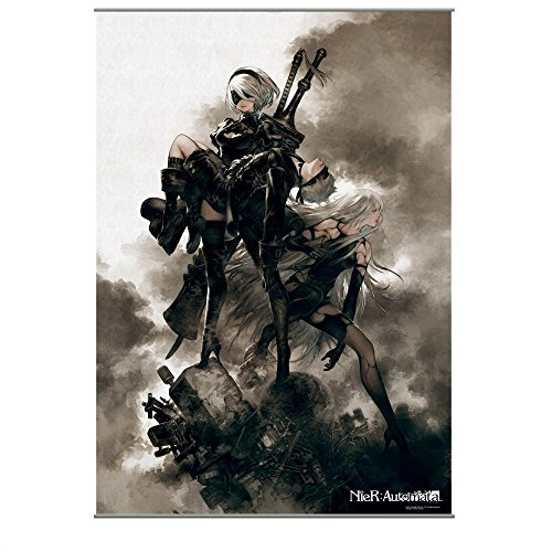 Square Enix Nier Automata Wall Scroll - Scroll Cast Wall