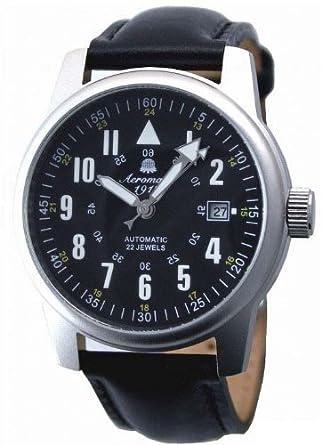 Automatik Military Flieger Uhr von Aeromatic 1912