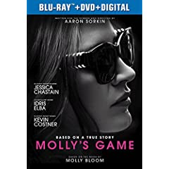 Molly's Game arrives on Digital March 27 and on Blu-ray, DVD, and On Demand April 10 from Universal