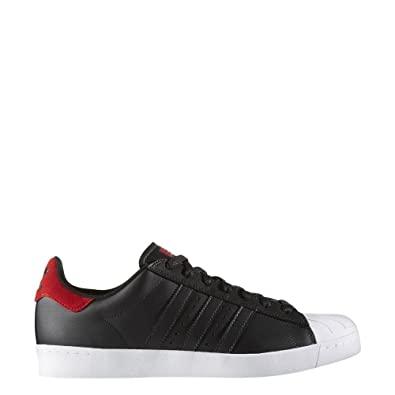 a8ee289a2cb adidas Superstar Vulc ADV Black Scarlet White  Amazon.co.uk  Shoes   Bags