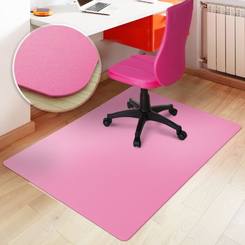 Office Marshal Office Chair Mat Hard Floor - Pink 30