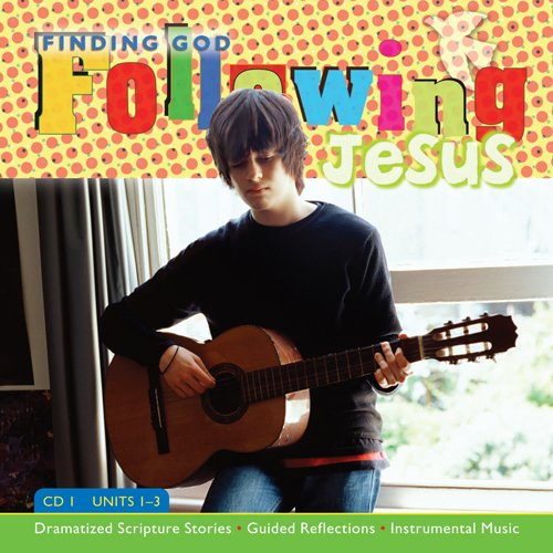 Download Following Jesus CD 1 & 2 Kit: Dramatized Scripture Stories * Guided Reflections * Instrumental Music (Finding God 2005, 2007) pdf