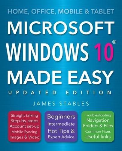 Windows 10 Made Easy (2017 edition)]()