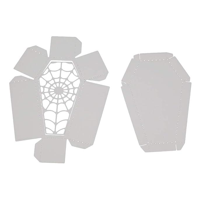 Yiwa Halloween Sarg Formen Schablone Metall Form Vorlage für DIY ...