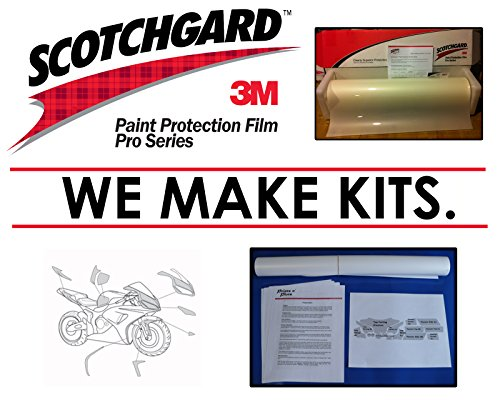 BMW HP2 Sport 2008-Present - 3M 948 PRO SERIES Paint Protection Film Kit by PrintsnPlots (Image #3)