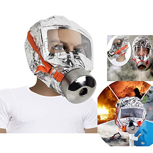 - Denshine 30 minutes Fire Escape Mask Forced 3C Certification Fire Respirator Gas Mask Emergency Escape Respirator Mask, Safety&Protective Mask