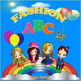 Fashion ABC. Alphabet Book & Clothes Vocabulary: Kids Alphabet ABC Books for Kids and Kindergarten Children